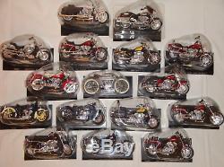 LOT de 16 Motos HARLEY DAVIDSON Collection NEUVE/Blister