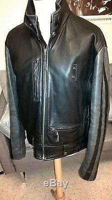 Rare Moto Harley Jacket Cuir Blouson Leather Davidson Import Biker A0qatw
