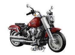 Lego Creator Harley Davidson Gras Garçon 10269 1023 Pièces Neuf avec Boîte