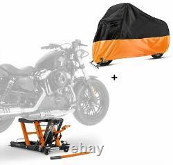 Lève Moto hydraulique LO + housse XXL pour Harley Davidson Night Train