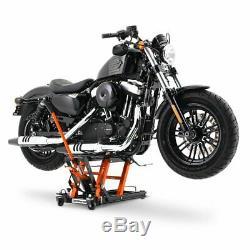 Lève Moto hydraulique LO + housse XXXL pour Harley Davidson Fat Boy / 114