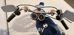 Lot MAQUETTE TAMIYA MOTO HARLEY DAVIDSON 1200 glide + honda magdna ECHELLE 16