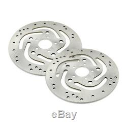 MOTO Front Brake Discs Rotor for Harley FLHTC/I Electra Glide Classic 2000-2007