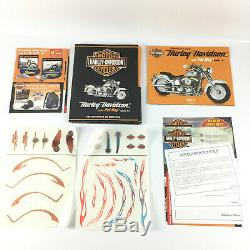 Maquette Moto Harley Davidson Fat Boy Echelle 14 Altaya + Fascicules 1 au 89