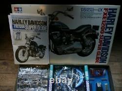 Maquette Tamiya 1/6 Harley Davidson Fxe1200 Super Glide