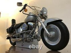 Masuette 14 Harley Davidson Fatboy Altaya
