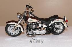 Mini moto Harley Davidson Franklin 1/18 FAT BOY 1998 MPGF