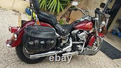 Moto Harley Davidson Softail Heritage 1340