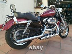 Moto Harley Davidson Sportster 1200