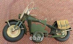 Moto Harley Davidson de marque polichinelle vers 1950