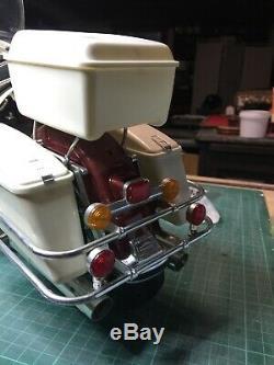 Moto Harley Davidson maquette Tamiya au 1/6 montée