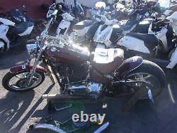 Moto Scooter accidentée HARLEY-DAVIDSON SOFTAIL 1584 2008 RSV Accidentée N