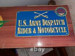 Moto USARMY, type Harley Davidson/Indian