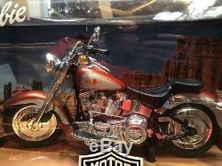 Moto harley davidson Barbie