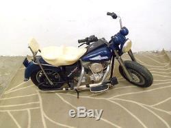 Moto électrique marque FEBER, jouet ancien vintage Harley Davidson