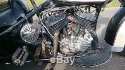 Moto servicar Harley Davidson 1963