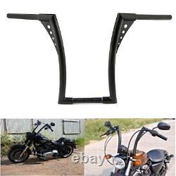 Noir Universel King Apes Ape Hanger 14 guidon moto 1 barre pour Harley Yamaha