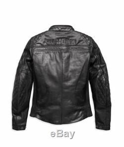 Original Harley-Davidson Moto Veste en Cuir pour Femme Rider 97199-18EW
