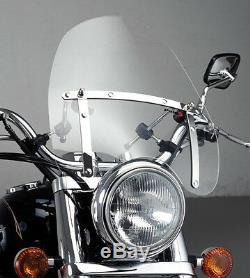 Pare brise Puig Daytona IV pour Moto Custom, Chopper, Cruiser, Saute-Vent, Bulle