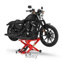 Pont de Levage Moto Chevalet Hydraulique 700KG Entretien Harley Davidson