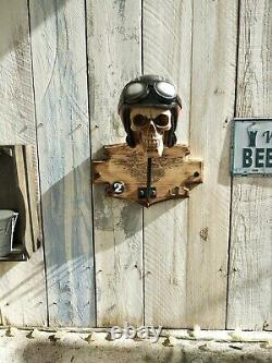 Porte casque Harley 1