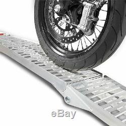 Rampe de chargement I moto pour Harley Davidson Rocker (FXCW) aluminium pliable