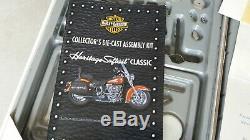 Rare Coffret Kit Montage Harley Heritage Softail Franklin Mint année 2000