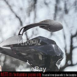 Rétroviseurs cabone look moto cnc pour Harley-Davidson HERITAGE SOFTAIL CLASSIC