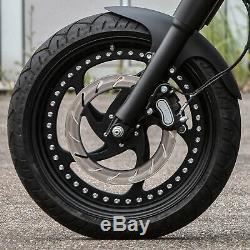 Ricks Harley-davidson Bob 11,5 / 292mm Droite Polie Disque de Frein Moto