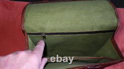 Royal Enfield paire sacoche moto cuir chevre
