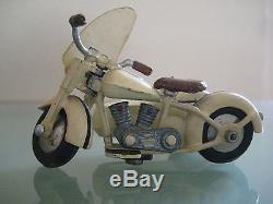 SIDE-CAR HARLEY DAVIDSON Jouet ancien moto Années 50 ORIGINAL