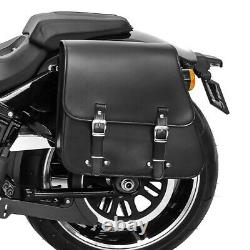 Sacoche Latérale et support pour Harley Davidson Fat Bob / 114 18-21 Tacoma 28l