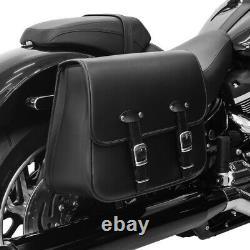 Sacoche Laterale pour Harley Davidson Softail Deluxe Laredo droite