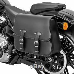 Sacoche Laterale pour Harley Davidson Softail Street Bob Laredo gauche
