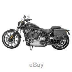 Sacoche Set detachable pour Harley Davidson Softail 18-20 Laredo 20L gauche