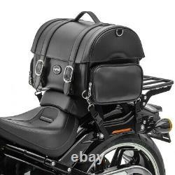 Sacoche arrière pour Harley Davidson Softail Slim / Street Bob sac de selle FP