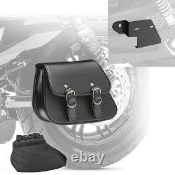 Sacoche bras oscillant + support pour Harley Davidson Dyna Wide Glide 96-17 DYT