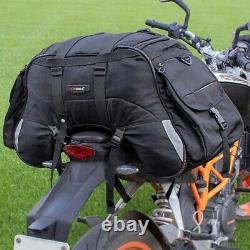 Sacoche de selle CL62 pour Harley Davidson Softail Slim / Sport Glide noir