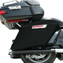 Sacoche rigide pour Harley Street Glide Special 15-21 Prolongés SC2 non peinte