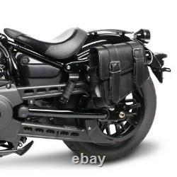 Sacoches Cavalières p. Harley Breakout FXBR/ FXSB, Rocker/ C Montana noir