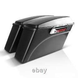 Sacoches Rigides BM pour Harley Davidson Electra Glide Standard 96-10