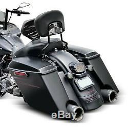 Sacoches Rigides Prolongés p. Harley Davidson Touring 94-13 laqué, sans serrure