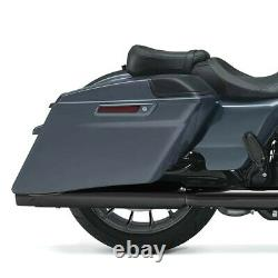Sacoches Rigides Prolongés pour Harley Street Glide / Special CVO Style gris