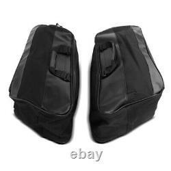 Sacoches Rigides Stretched pour Harley Road King 94-13 avec sacs d'interieurs