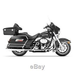 Sacoches Rigides pour Harley Davidson Modèles Touring 94-13 noir mat