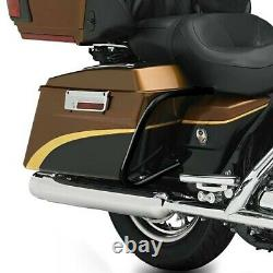 Sacoches Rigides pour Harley Davidson Road King 09-13 supports cavalière LB