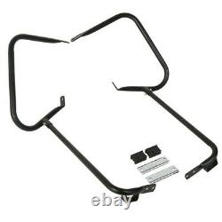Sacoches Rigides pour Harley Davidson Road King 97-08 supports cavalière LB