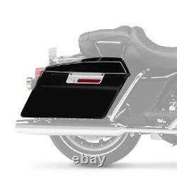 Sacoches Rigides pour Harley Davidson Road King (FLHR) 14-21 noir