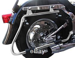 Sacoches avec supports CR pour Harley Heritage Softail Classic 88-17 Prolongés