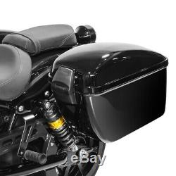 Sacoches laterales DL + kit de fixation pour Harley Softail Street Bob